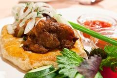 Fresh kebab Royalty Free Stock Photography