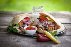 Fresh kebap Stock Images