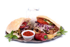 Fresh kebap Royalty Free Stock Photography
