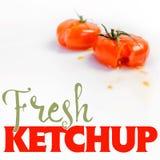Fresh Ketchup Stock Photography