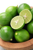 Fresh key limes Royalty Free Stock Photography