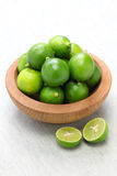 Fresh key limes Royalty Free Stock Image