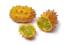 Fresh Kiwano fruit Royalty Free Stock Photos