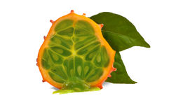 Fresh Kiwano Royalty Free Stock Photography