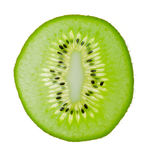 Fresh kiwi. Isolated on white Stock Photos