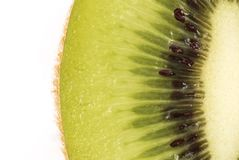 Fresh kiwi background Stock Photos