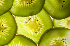 Fresh kiwi background Stock Images