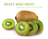Fresh kiwi fruit Stock Photography