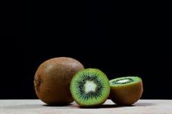 Fresh kiwi fruit Stock Images