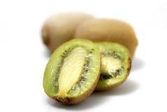 Fresh kiwi fruit. Isolated on a white background Royalty Free Stock Photos