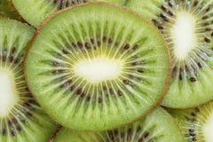 Fresh kiwi fruit background Stock Images