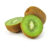 Fresh kiwi fruit isolated on white Royalty Free Stock Photography