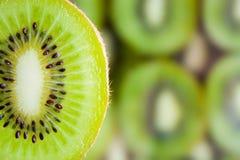 Fresh kiwi fruit slice Royalty Free Stock Photography