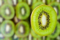 Fresh kiwi fruit slice Royalty Free Stock Photo