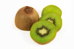Fresh kiwi fruit slices Royalty Free Stock Photos