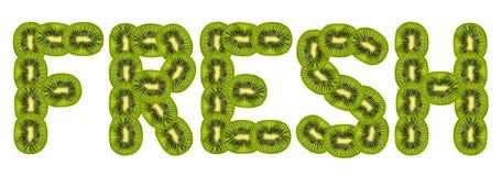 Fresh kiwi fruit Royalty Free Stock Photos