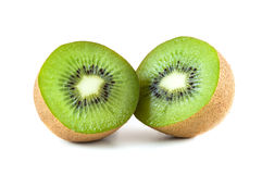 Fresh kiwi fruit Stock Photography