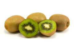 Fresh kiwi fruits Stock Image