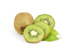 Fresh kiwi fruits Stock Photography