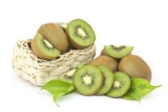 Fresh kiwi fruits Stock Images