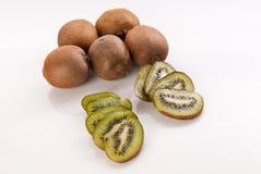 Fresh kiwi fruits Royalty Free Stock Photos