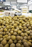 Fresh Kiwi Fruits for Sale. At a supermarket royalty free stock images