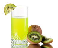 Free Fresh Kiwi Juice Royalty Free Stock Photos - 18439208