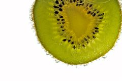 Fresh Kiwi Slice Royalty Free Stock Photos