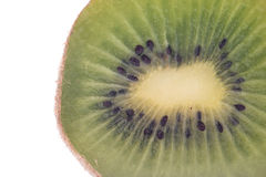 Fresh Kiwi Slice Stock Photography