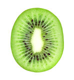 Fresh kiwi slice closeup Stock Image
