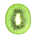 Fresh kiwi slice closeup Stock Image
