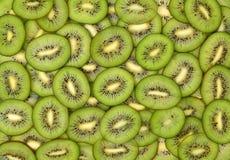 Fresh Kiwi sliced Stock Photo