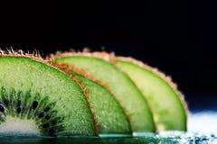 Fresh kiwi slices Royalty Free Stock Image