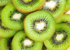 Fresh kiwi slices background Royalty Free Stock Photography