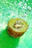 Fresh kiwi water with a splash Royalty Free Stock Photography