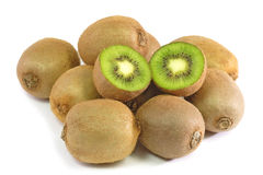 Fresh Kiwis Stock Images