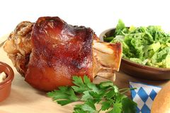 Fresh knuckle of pork Royalty Free Stock Photography