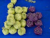 Fresh kohlrabi vegetable on the market for healthy eating