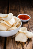 Fresh Krupuk (Prawn Crackers) Stock Photo