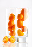 Fresh kumquat Royalty Free Stock Image