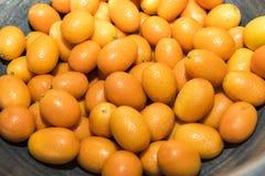 Fresh Kumquats Stock Image