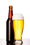 Fresh lager beer Stock Photo