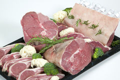 Fresh Lamb Royalty Free Stock Photos