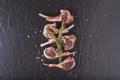 Fresh lamb Stock Photos