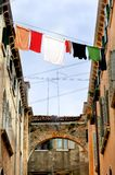 Fresh Laundry in Venice Royalty Free Stock Photos