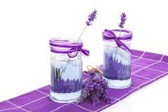 Fresh lavender lemonade. Royalty Free Stock Image