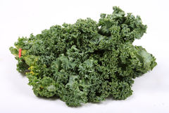 Fresh leafy kale Stock Photos