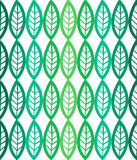 Fresh leaves seamless pattern in vector. Green foliage endless background. Stock Photo