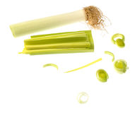 Fresh leek Royalty Free Stock Photo