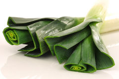 Fresh leek Royalty Free Stock Photography